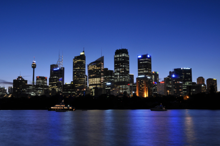 Picture no: 10336405 Sydney Skyline Created by: MSPictures