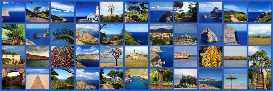 Picture no: 10338805 Collage Mallorca Created by: fotoping