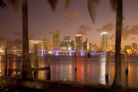 Picture no: 10355687 Downtown Miami Skyline Created by: reisefoto