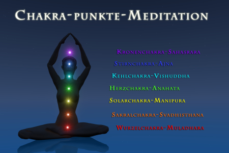 Picture no: 10388941 Chakra-Punkte-Meditation Created by: fotokunst-schmelzer