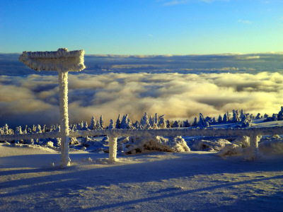 Picture no: 10401065 Brocken Januar 2012 Created by: Chinajoerg