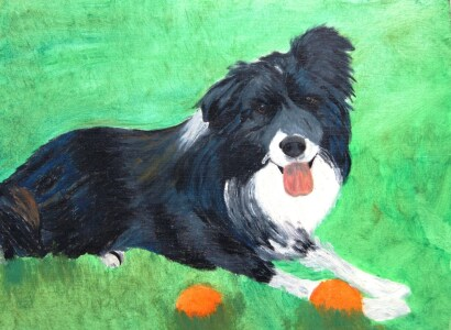 Picture no: 10405667 Bordercollie Created by: Corinna Schmidt