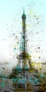 Picture no: 10418917 City Art PARIS Eiffeltower II Created by: Melanie Viola