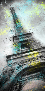 Picture no: 10418925 City Art PARIS Eiffeltower III Created by: Melanie Viola