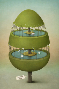 Picture no: 10462686 Easter egg made of tree. Created by: Ann-Mei
