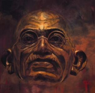Picture no: 10462798 Gandhi Created by: GalerieFreiraum