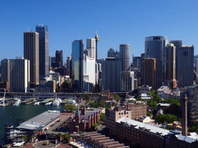 Picture no: 10485384 Sydney Skyline Created by: Melanie Viola