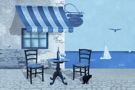 Picture no: 10488750 Cafe sur la mer  Created by: Mausopardia
