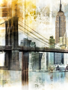 Picture no: 10552561 New York Skyline Created by: Galerie-Fotoeffekt