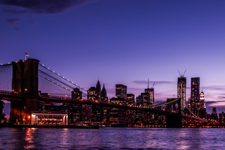 Picture no: 10571289 NYC: Brooklyn Bridge bei Nacht Created by: hannes cmarits