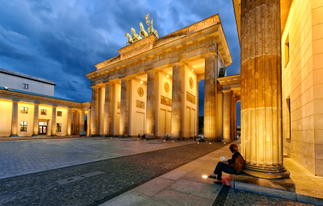 Picture no: 10586885 Berlin - Brandenburger Tor Created by: Licht-Werk
