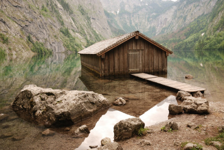 Picture no: 10587169 Bootshaus am Obersee Created by: orxy