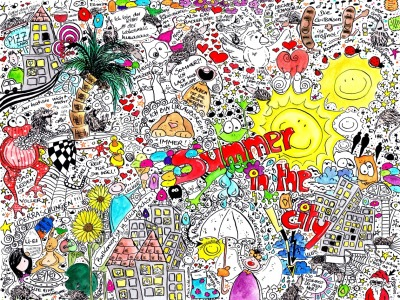 Picture no: 10603138 Summer in the city Created by: Sandra Riedel