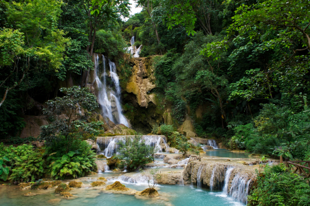 Picture no: 10641540 Kuang Si Wasserfall in Laos Created by: danielgiesenphotography