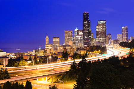 Picture no: 10665768 Seattle Skyline Created by: BvuPhotography