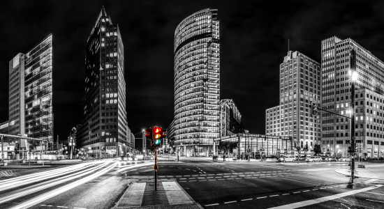 Picture no: 10669130 Potsdamer Platz Colourkey Panorama Created by: Dimitrije Bilic