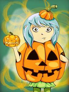 Picture no: 10673280 Little Miss Pumpkin Created by: Claudia Pflicke