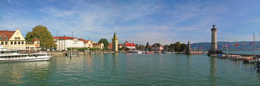 Picture no: 10691943 Lindau Hafen Panorama  Created by: Mausopardia