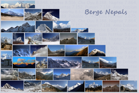 Picture no: 10694071 Berge Nepals Created by: Gerhard Albicker