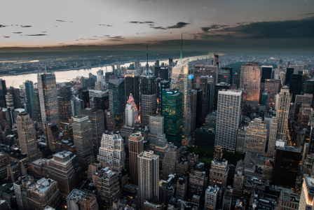 Picture no: 10697425 Sonnenuntergang über Manhatten Created by: hannes cmarits