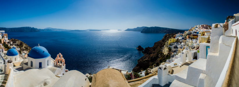Picture no: 10702675 Santorini Panorama Oia III Created by: Jean Claude Castor