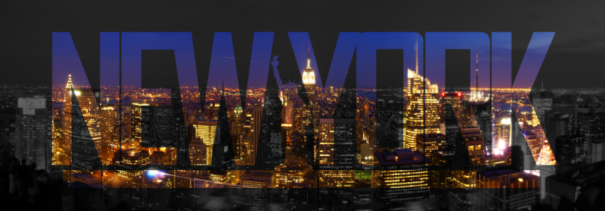 Picture no: 10706255 New York at Night Panorama Created by: mao-in-photo