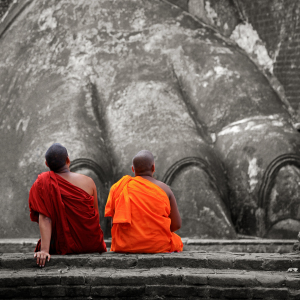 Picture no: 10737941 Monks at Sigiriya Created by: Thomas Herzog