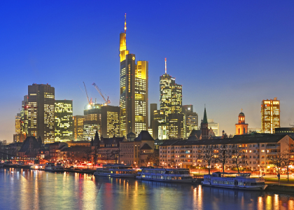 Picture no: 10743561 Skyline Frankfurt Created by: FineArtImages