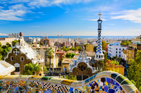 Picture no: 10752955 Park Güell in Barcelona Created by: Mapics