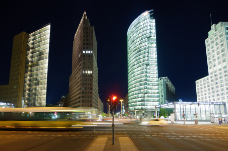 Picture no: 10764187 Potsdamer Platz in Berlin bei Nacht Created by: Christian Draghici
