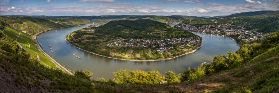 Picture no: 10764453 Rheinschleife bei Boppard (13n+) Created by: Erhard Hess