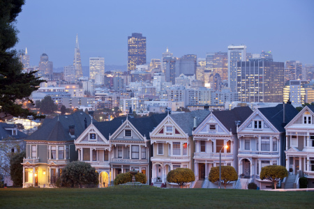 Picture no: 10775425 San Francisco Alamo Square Created by: reisefoto