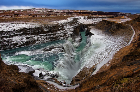 Picture no: 10779649 Gullfoss - Island - 3 Created by: Miho Birimisa