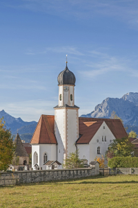 Picture no: 10781891 Dorfkirche von Wallgau Created by: EderHans