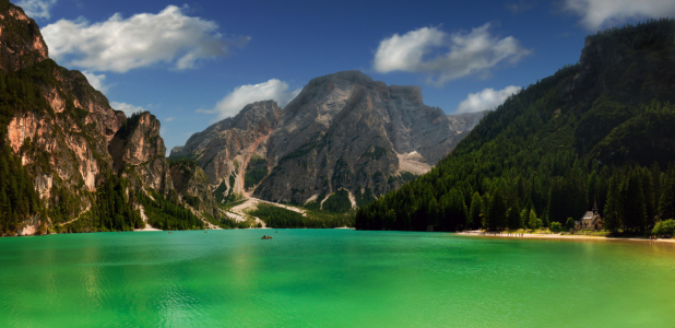 Picture no: 10792571 Pragser Wildsee mit Seekofel Created by: Reiner Würz