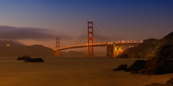 Picture no: 10793831 Golden Gate Bridge at Sunset Created by: Melanie Viola