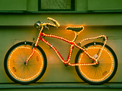 Picture no: 10797977 Iluminated bike Created by: Armin Redöhl