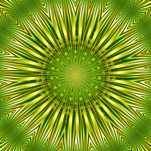 Picture no: 10799179 Mandala Grünes Licht Created by: Atteloi