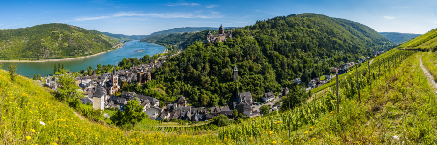 Picture no: 10806269 Bacharach mit Stahleck (4+) Created by: Erhard Hess