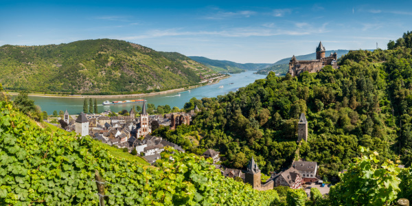 Picture no: 10806925 Bacharach mit Stahleck (3+) Created by: Erhard Hess