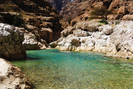 Picture no: 10816169 Wadi Shab Created by: KundenNr-160338