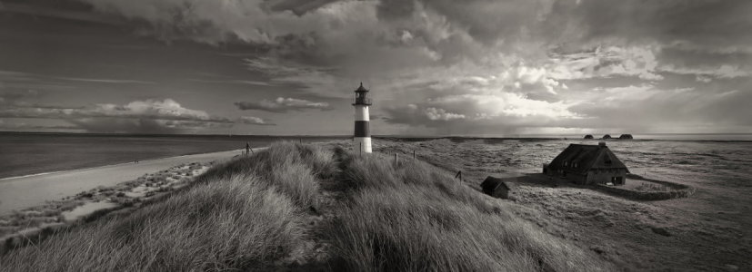 Picture no: 10833865 Sylt Leuchtturm am Ellenbogen in Sepia Created by: Ina  Penning
