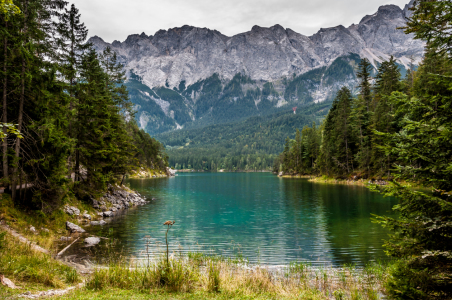 Picture no: 10845021 Eibsee-Bucht I Created by: Erhard Hess