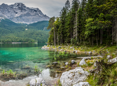 Picture no: 10846643 Eibsee-Nordbucht Created by: Erhard Hess