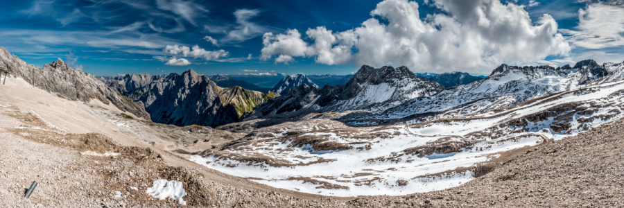 Picture no: 10847821 Zugspitz-Panorama Created by: Erhard Hess