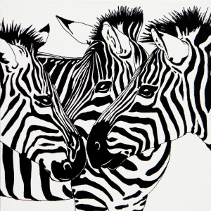 Picture no: 10848345 Zebras 1 Created by: holznerart