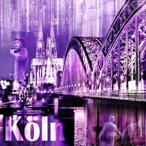 Picture no: 10855005 Köln Skyline  Created by: Galerie-Fotoeffekt
