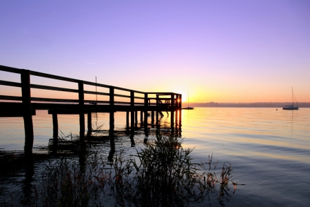 Picture no: 10903486 Abendromantik am Ammersee Created by: Renate Knapp