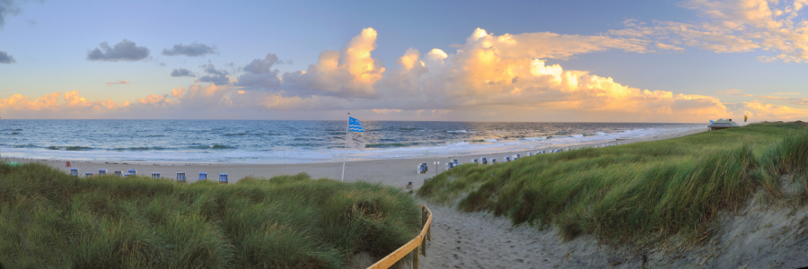 Picture no: 10906337 Sylt Strandpanorama Created by: FineArtImages
