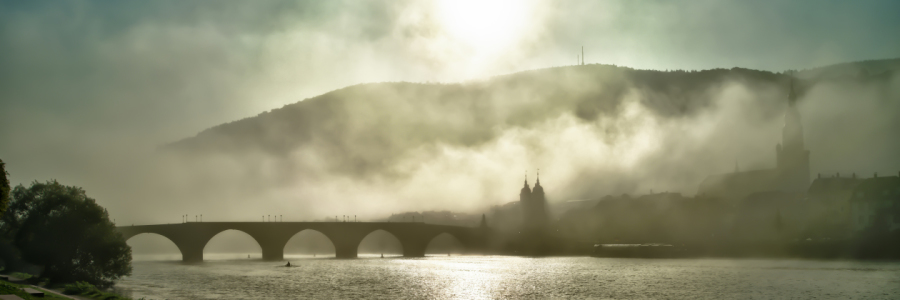 Picture no: 10938605 Heidelberg im Nebel Fine Art Created by: eyetronic
